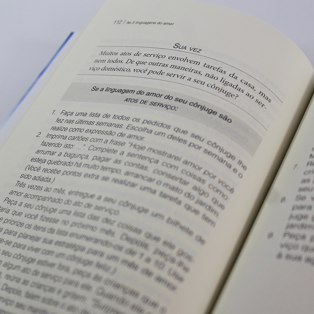 Kit 05 Livros - As Cinco Linguagens do Amor