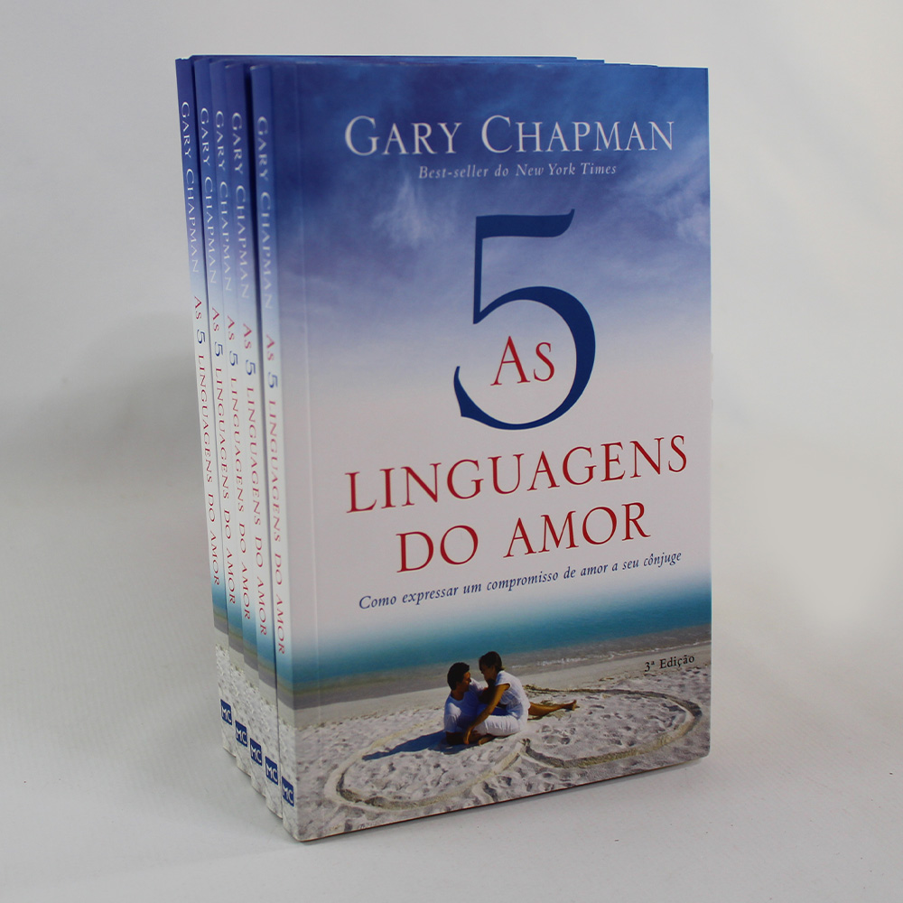 Kit 05 Livros | As Cinco Linguagens do Amor | Gary Chapman