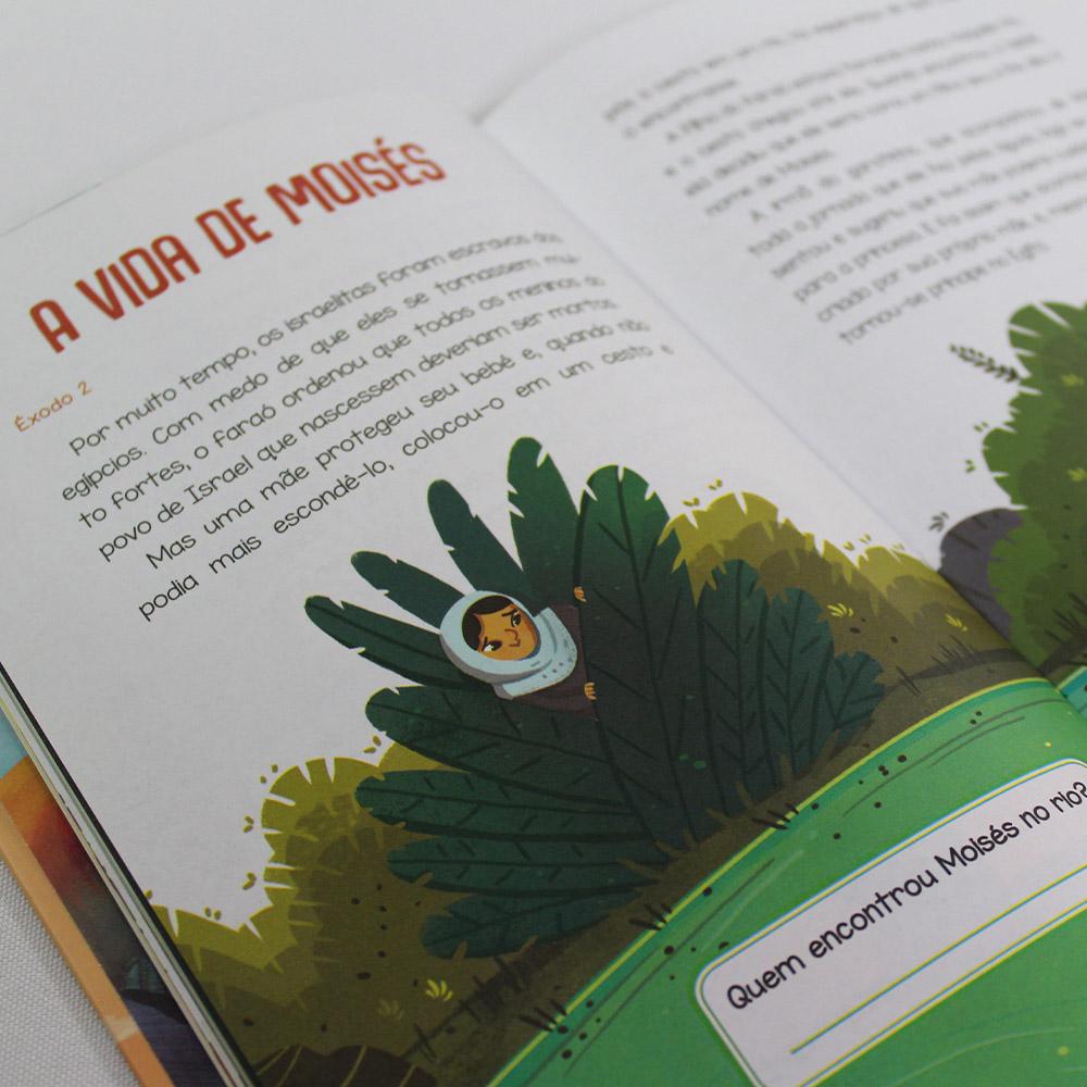 Kit 05 Livros | Bíblia Para Crianças
