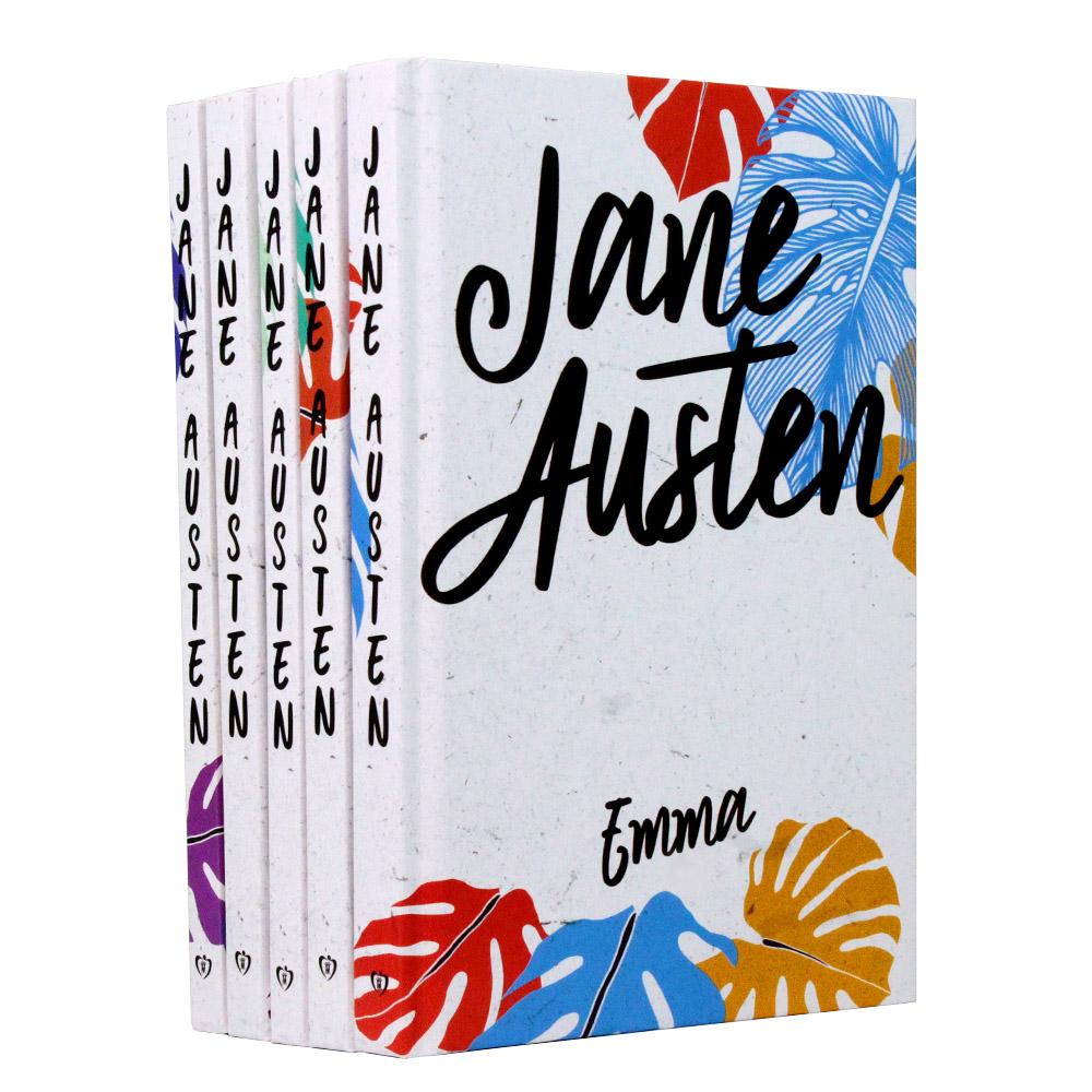Kit 05 Livros Jane Austen - Capa Dura | Edição Especial
