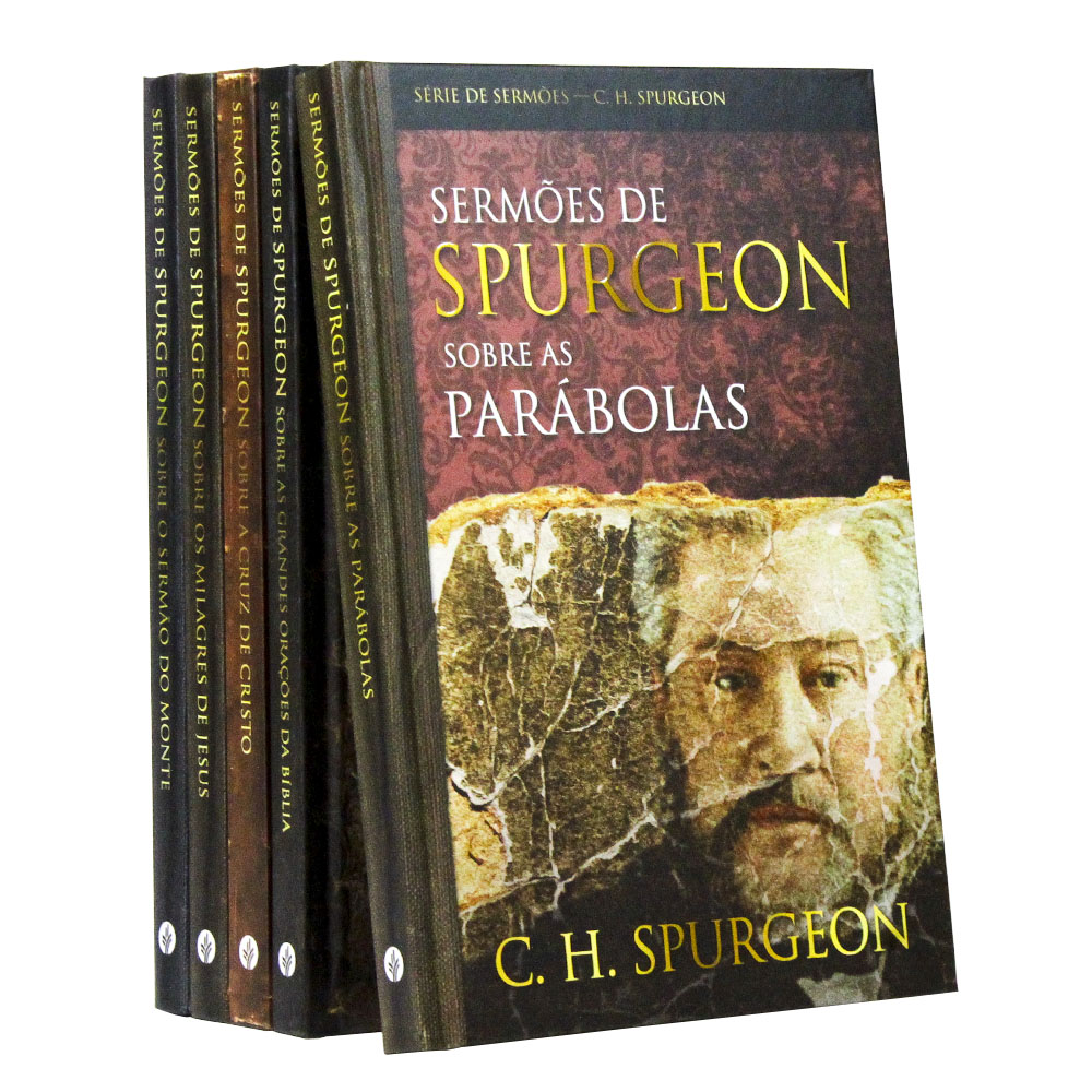 Kit 05 Livros | Sermões de Charles Spurgeon