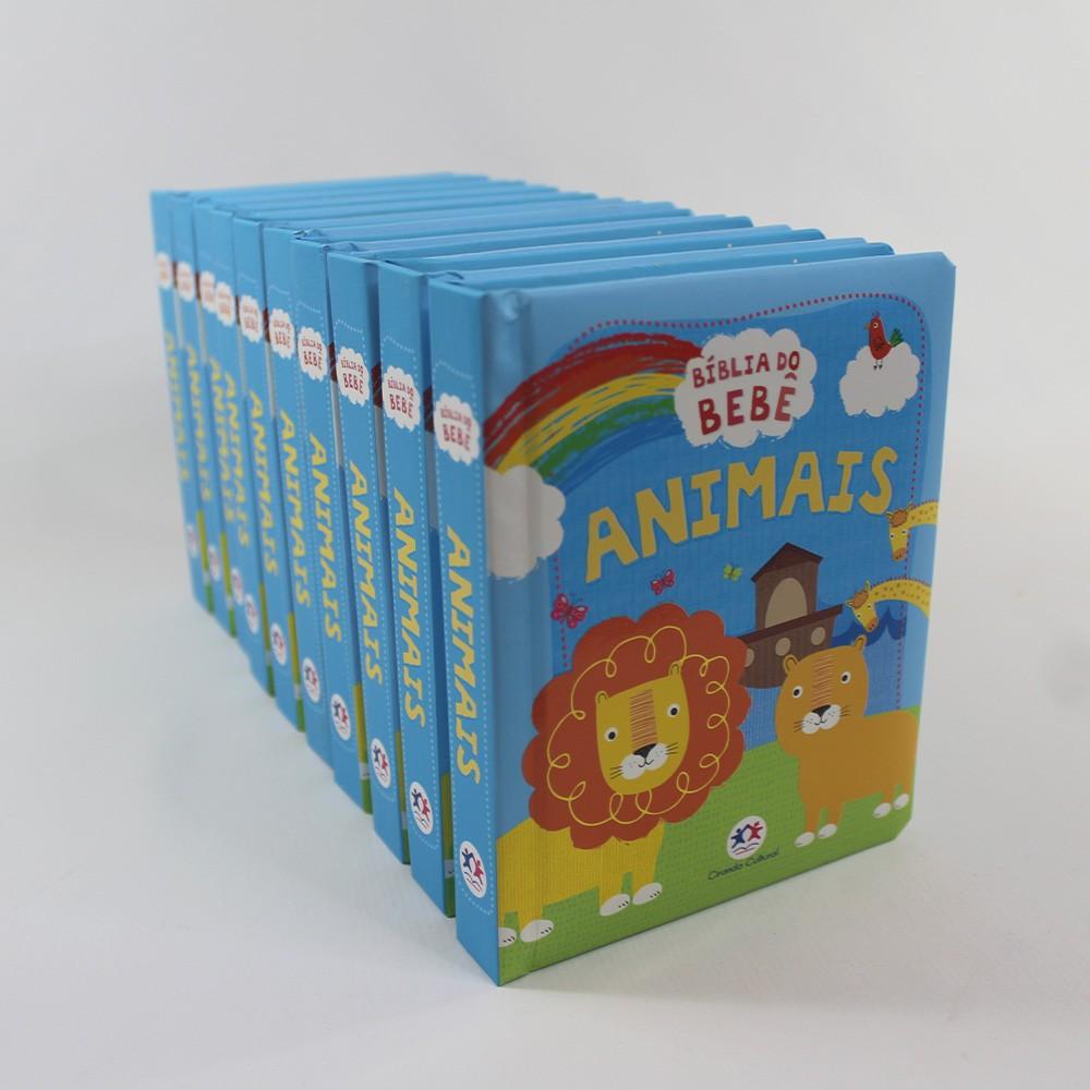 Kit 10 Bíblia do Bebê - Animais