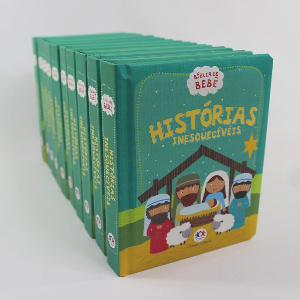 Kit 10 Bíblia do Bebê - Histórias Inesquecíveis