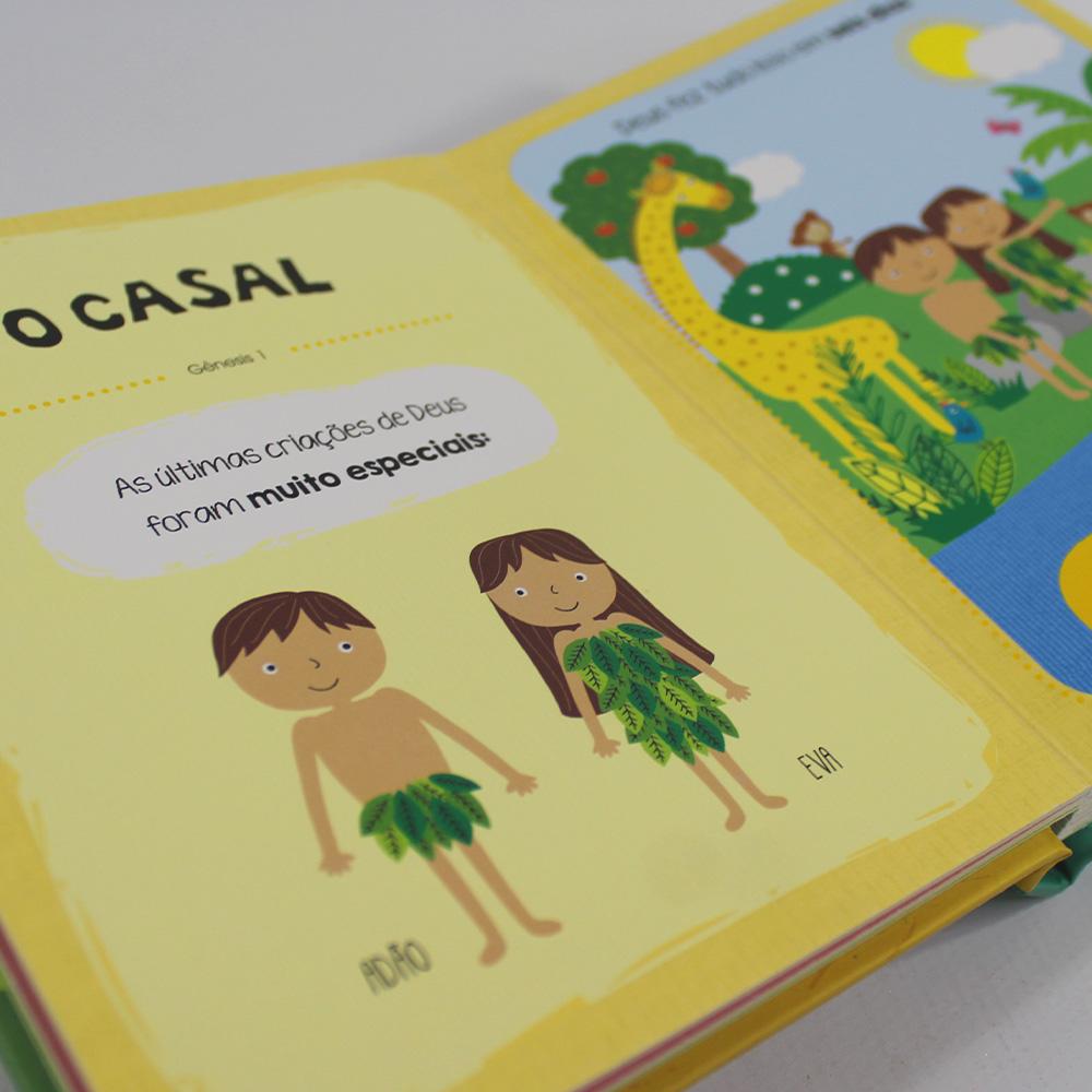 Kit 10 Bíblia do Bebê | Histórias Inesquecíveis