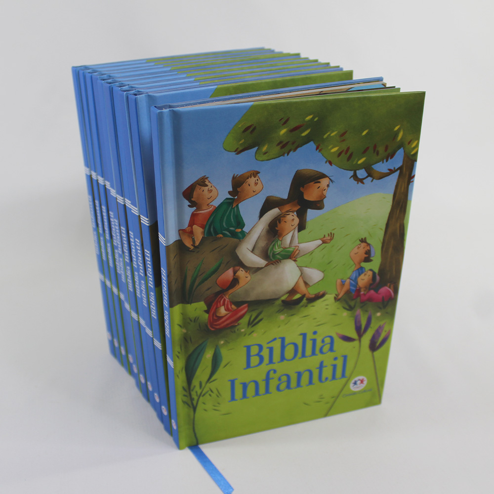 Kit 10 Bíblia Infantil Capa Dura | Ciranda