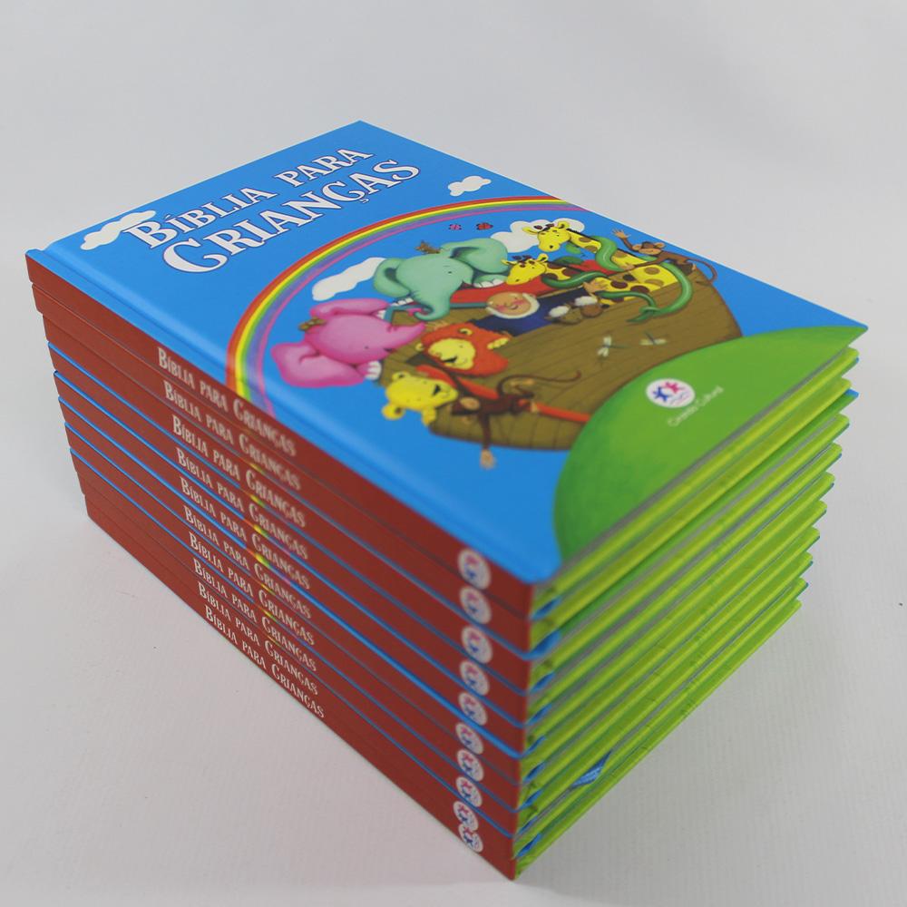 Kit 10 Bíblia para Crianças | Capa Azul