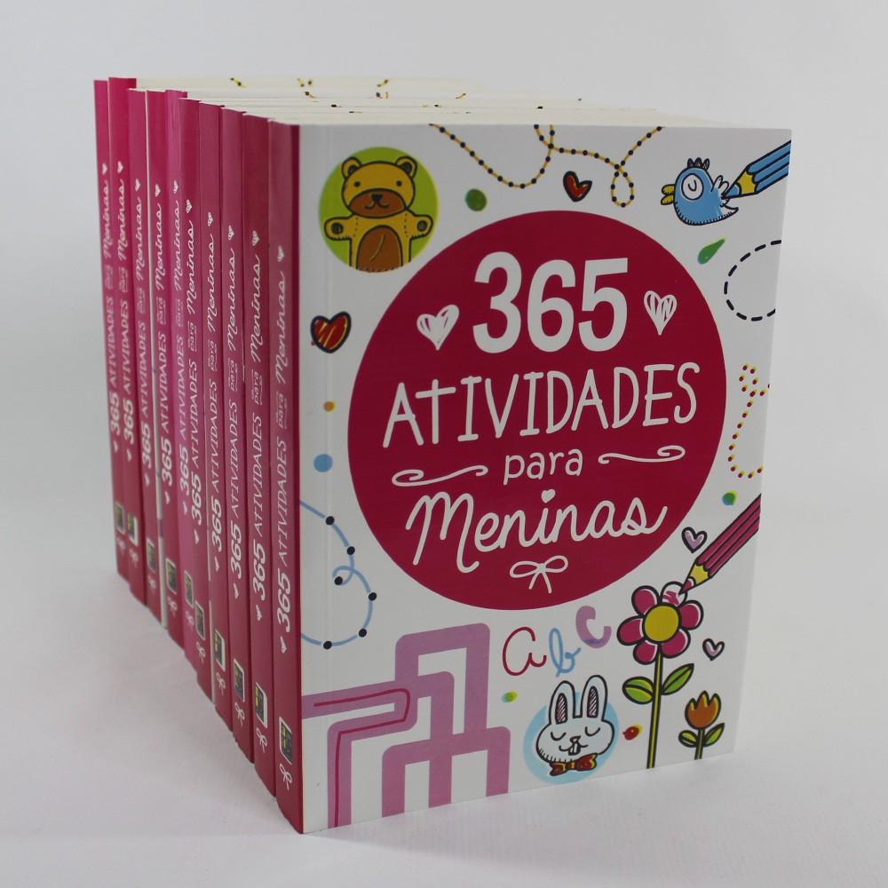 Kit 10 Livros - 365 Atividades para Meninas