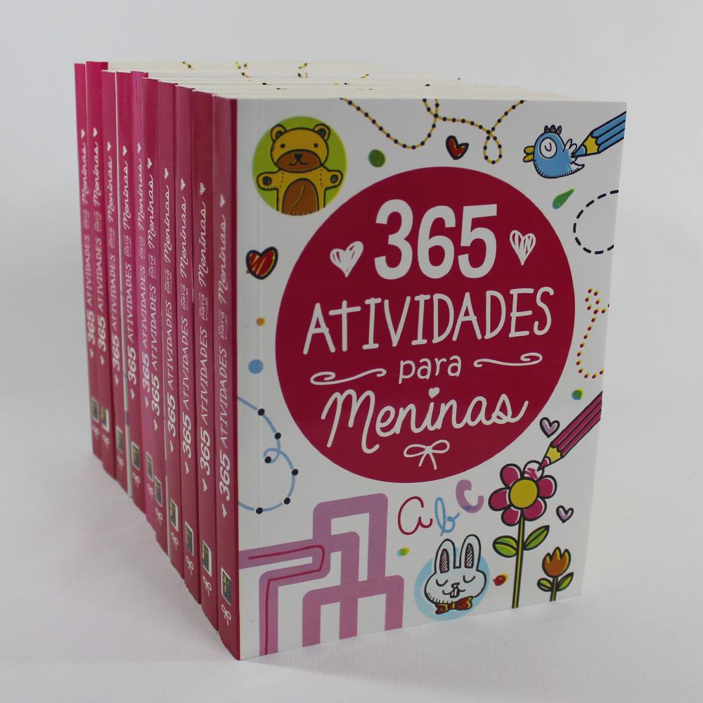 Kit 10 Livros | 365 Atividades para Meninas