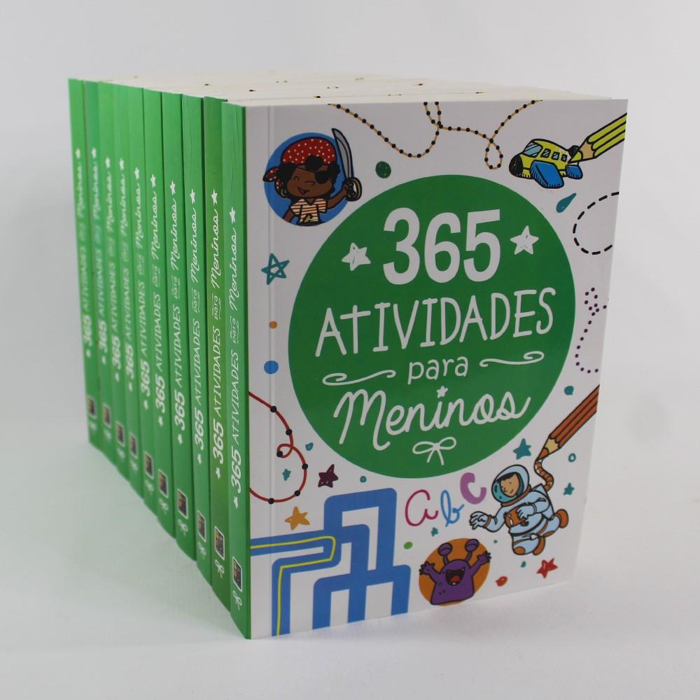 Kit 10 Livros - 365 Atividades para Meninos