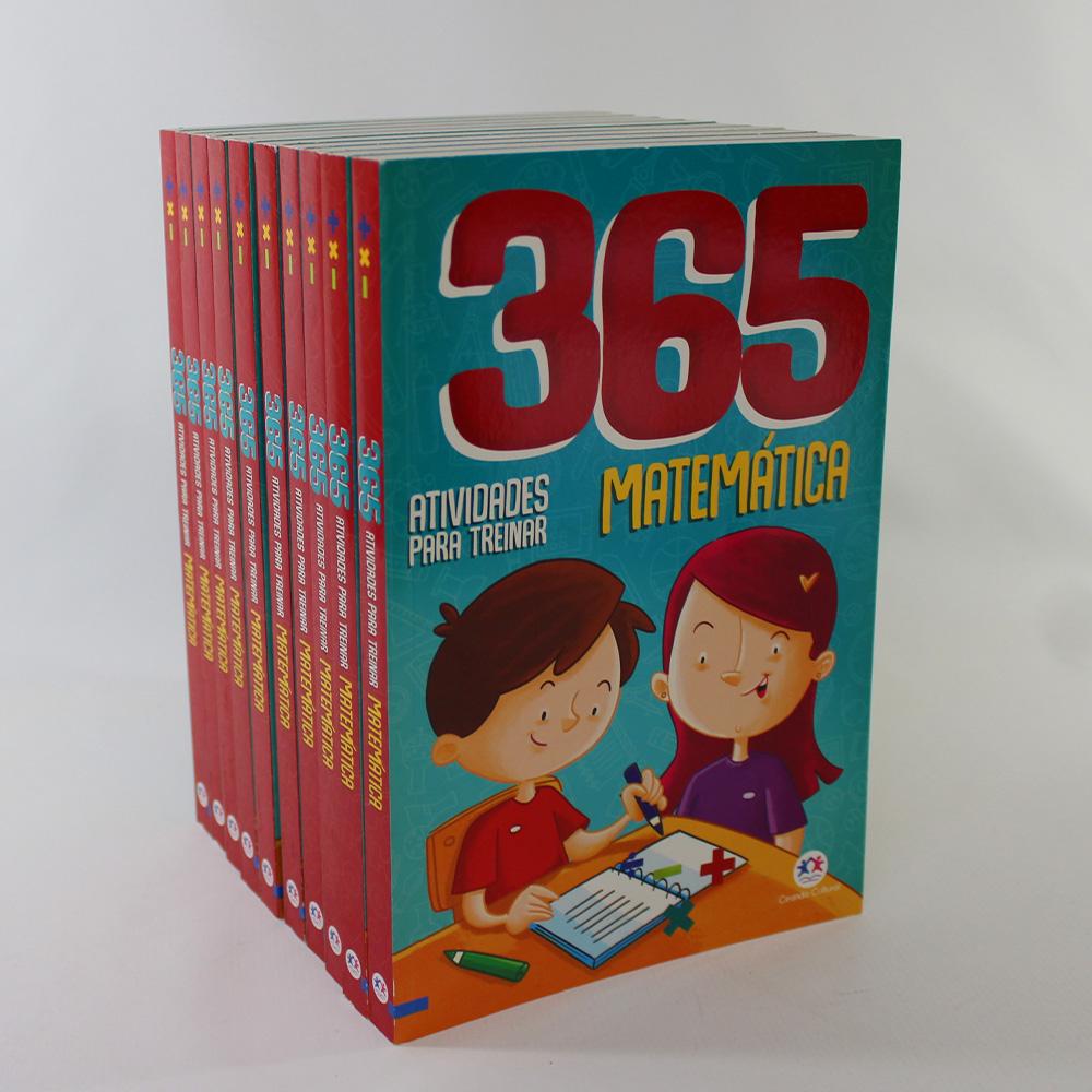 Kit 10 Livros | 365 Atividades Para Treinar Matemática