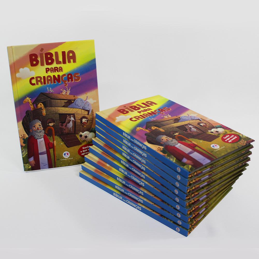 Kit 10 Livros | Bíblia Para Crianças