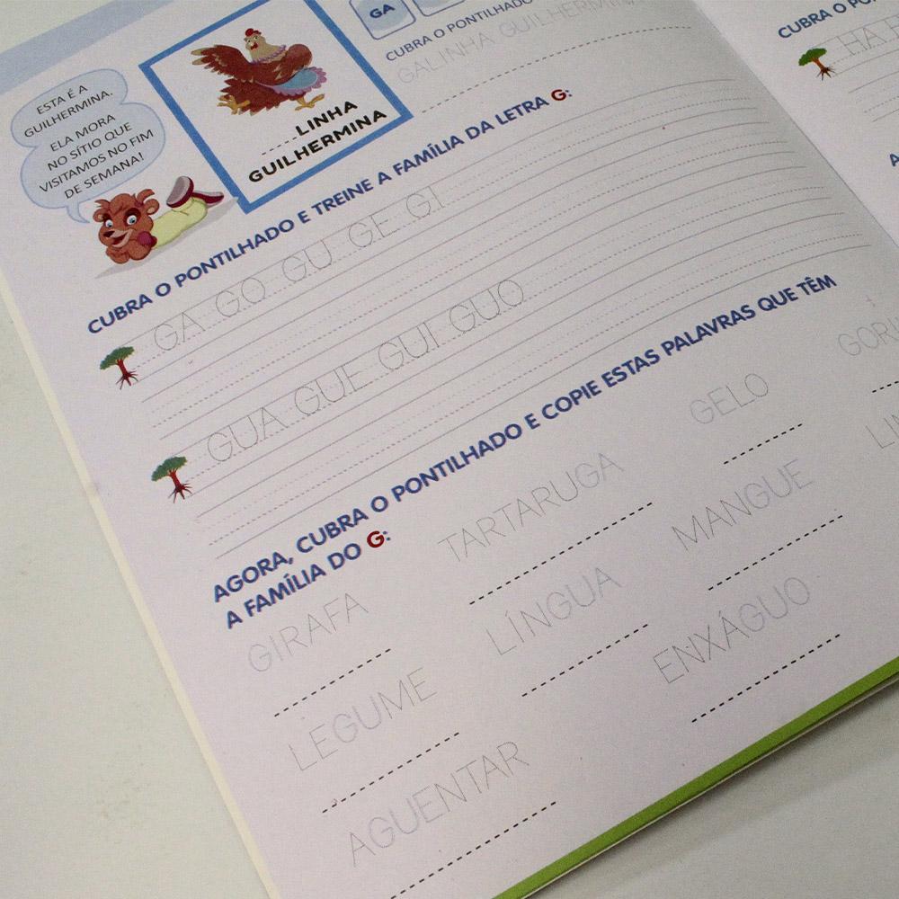Kit 10 Livros | Caligrafia Divertida III - Vol. 4 | Escolinha Todolivro
