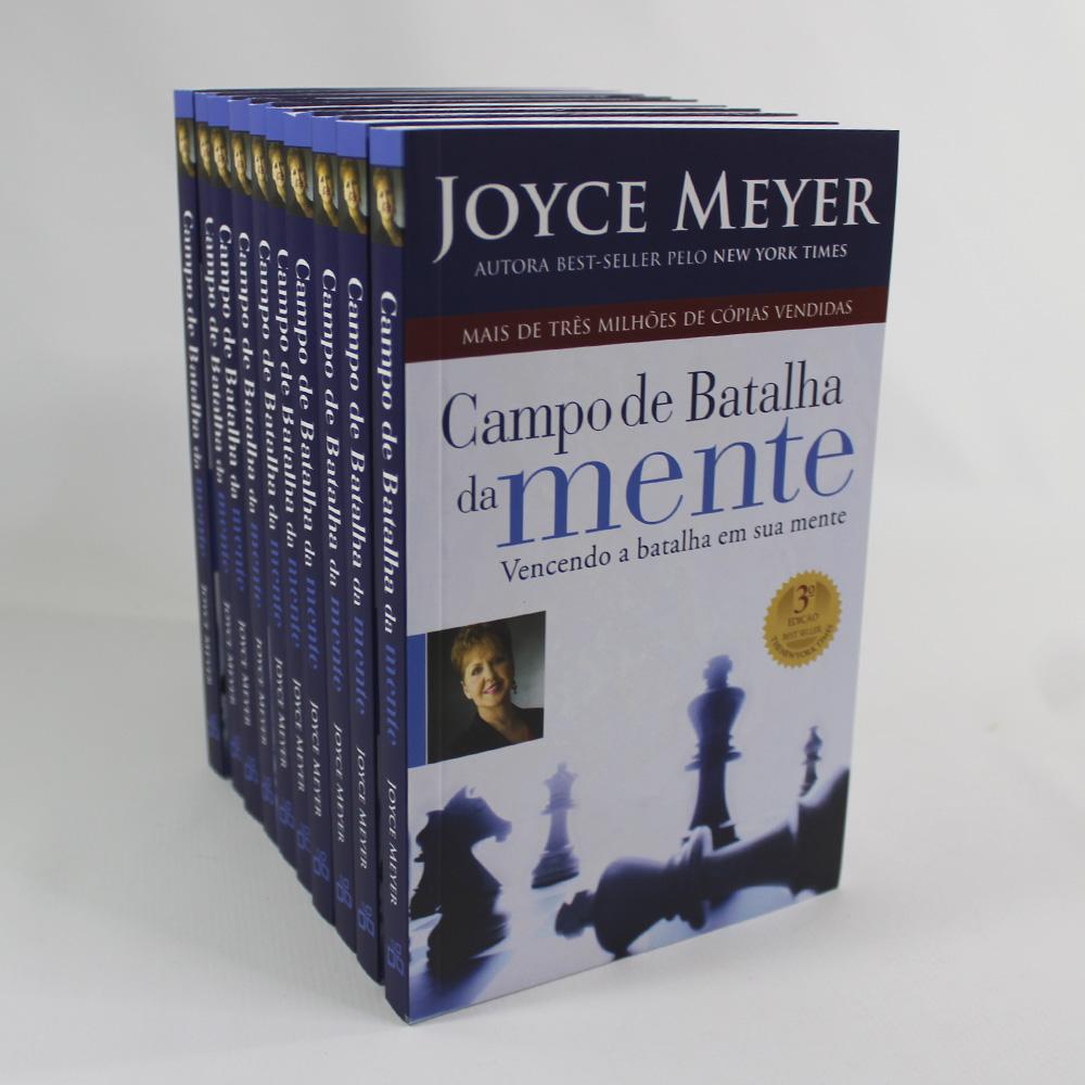 Kit 10 Livros - Campo de Batalha da Mente | Joyce Meyer