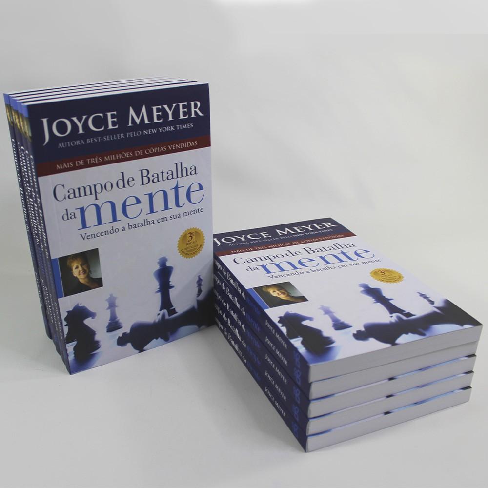 Kit 10 Livros - Campo de Batalha da Mente   Joyce Meyer