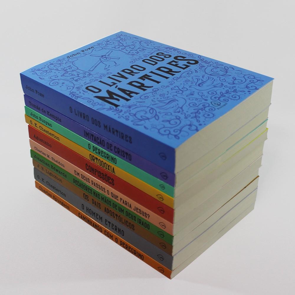 Kit 10 livros | Clássicos da Literatura Cristã
