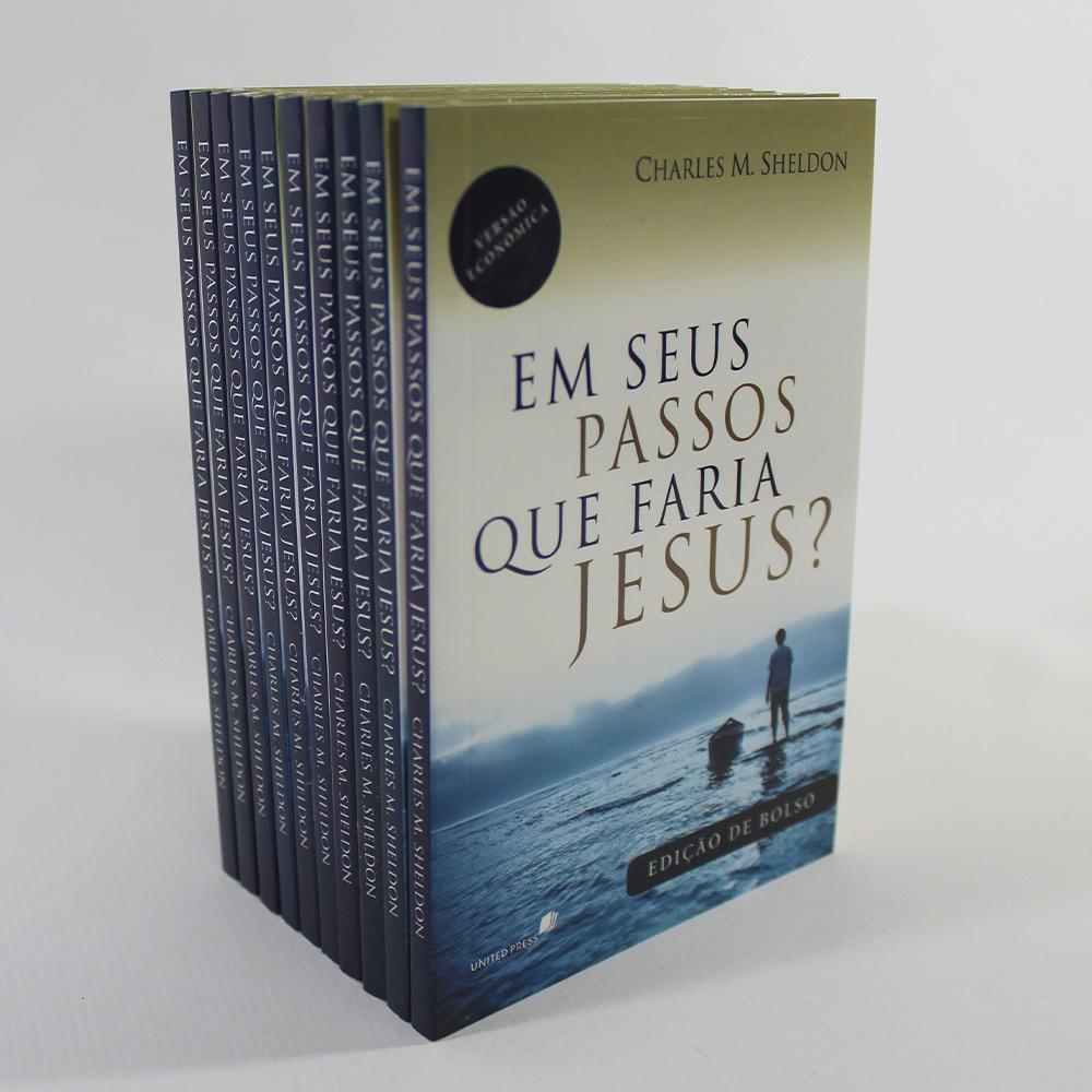 Kit 10 Livros | Em seus Passos que faria Jesus? Edição de Bolso