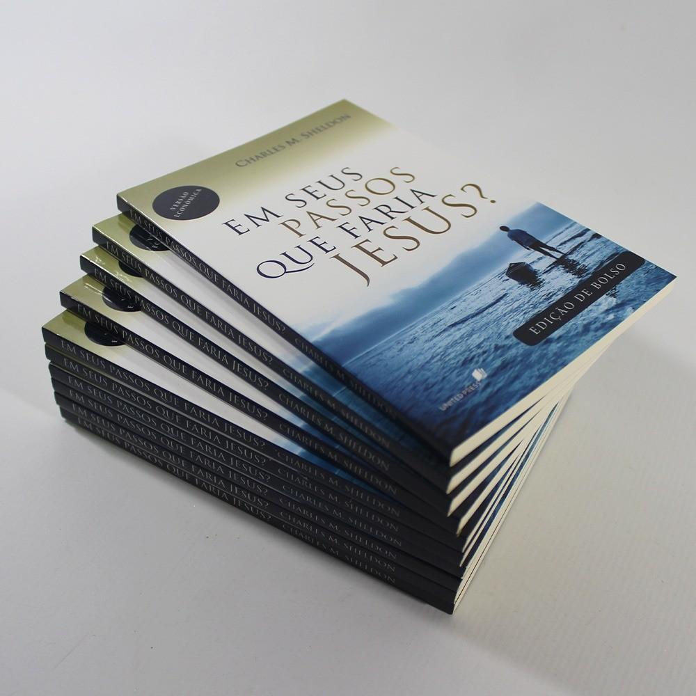 Kit 10 Livros | Em seus Passos o que faria Jesus? Edição de Bolso