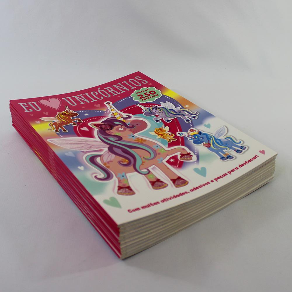 Kit 10 Livros | Eu Amo Unicórnios