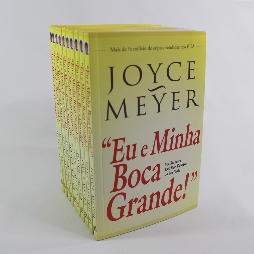 Kit 10 Livros - Eu e Minha Boca Grande | Joyce Meyer