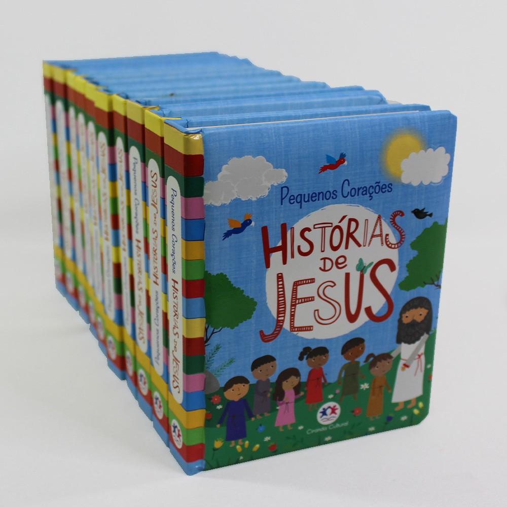 Kit 10 Livros | Histórias de Jesus