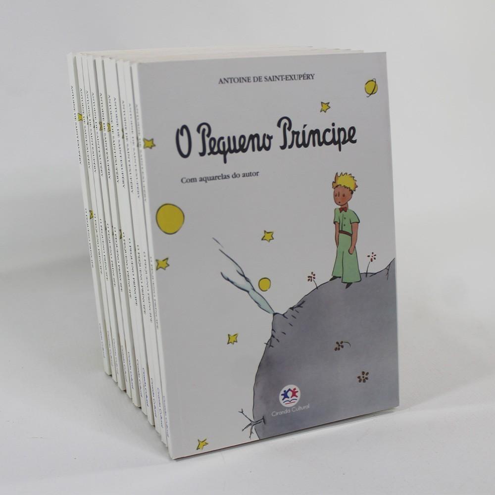 Kit 10 Livros   O Pequeno Príncipe   Brochura