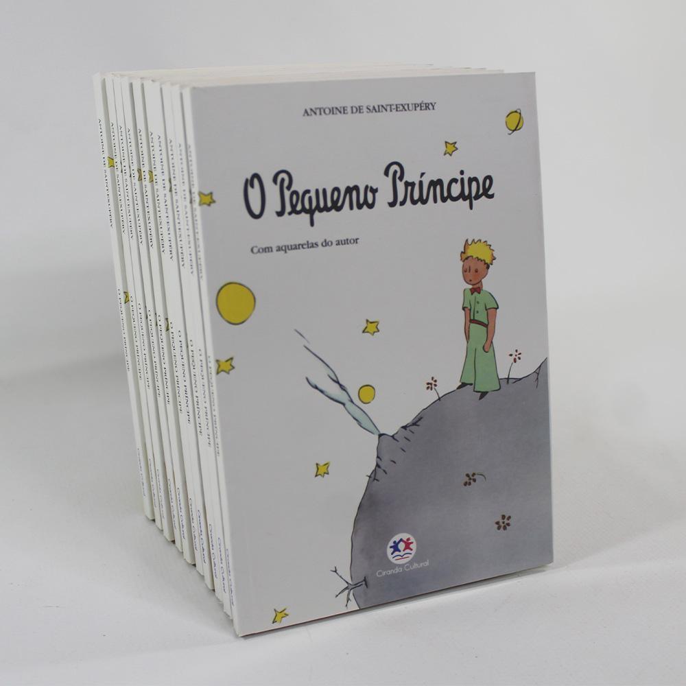 Kit 10 Livros | O Pequeno Príncipe | Brochura