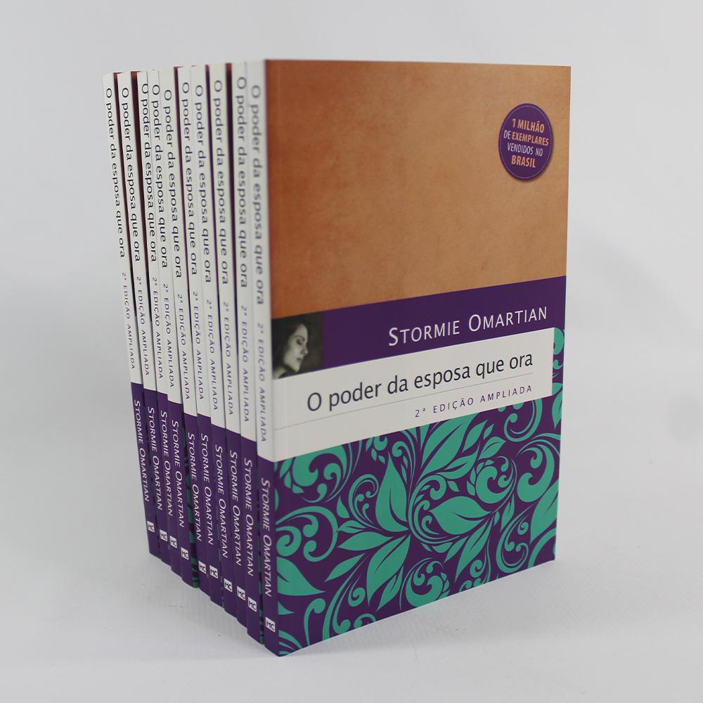 Kit 10 Livros - O Poder da Esposa que Ora