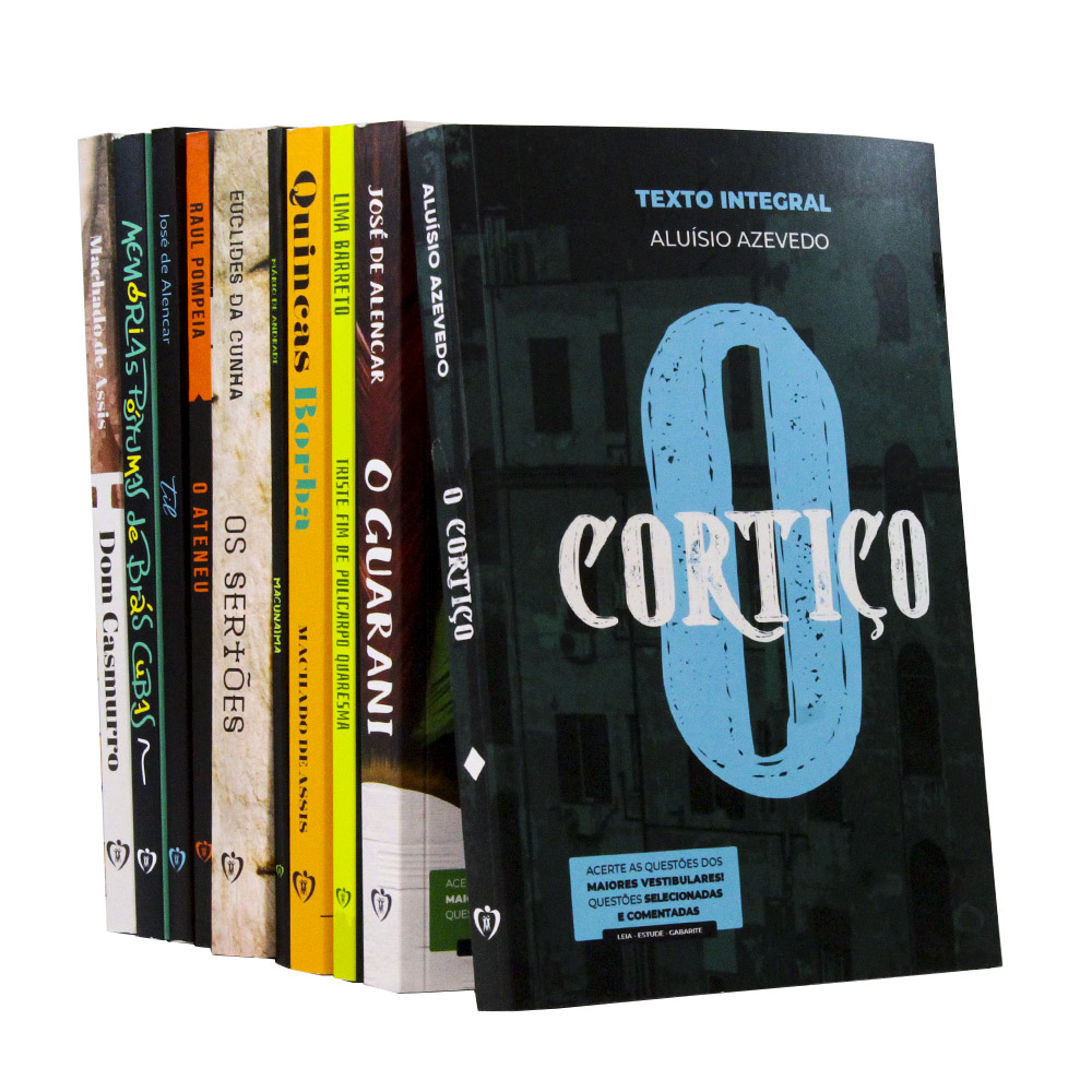 Kit 10 Livros | Vestibular - Clássicos da Literatura Brasileira
