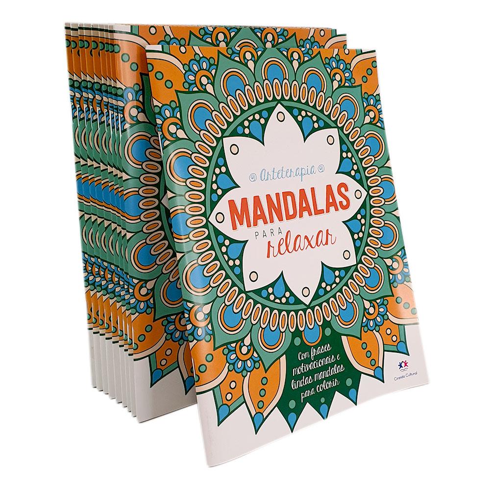 Kit 10 Mandalas para Relaxar