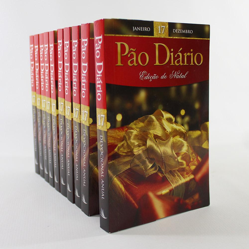 Kit 10 Pão Diário - Edição de Natal