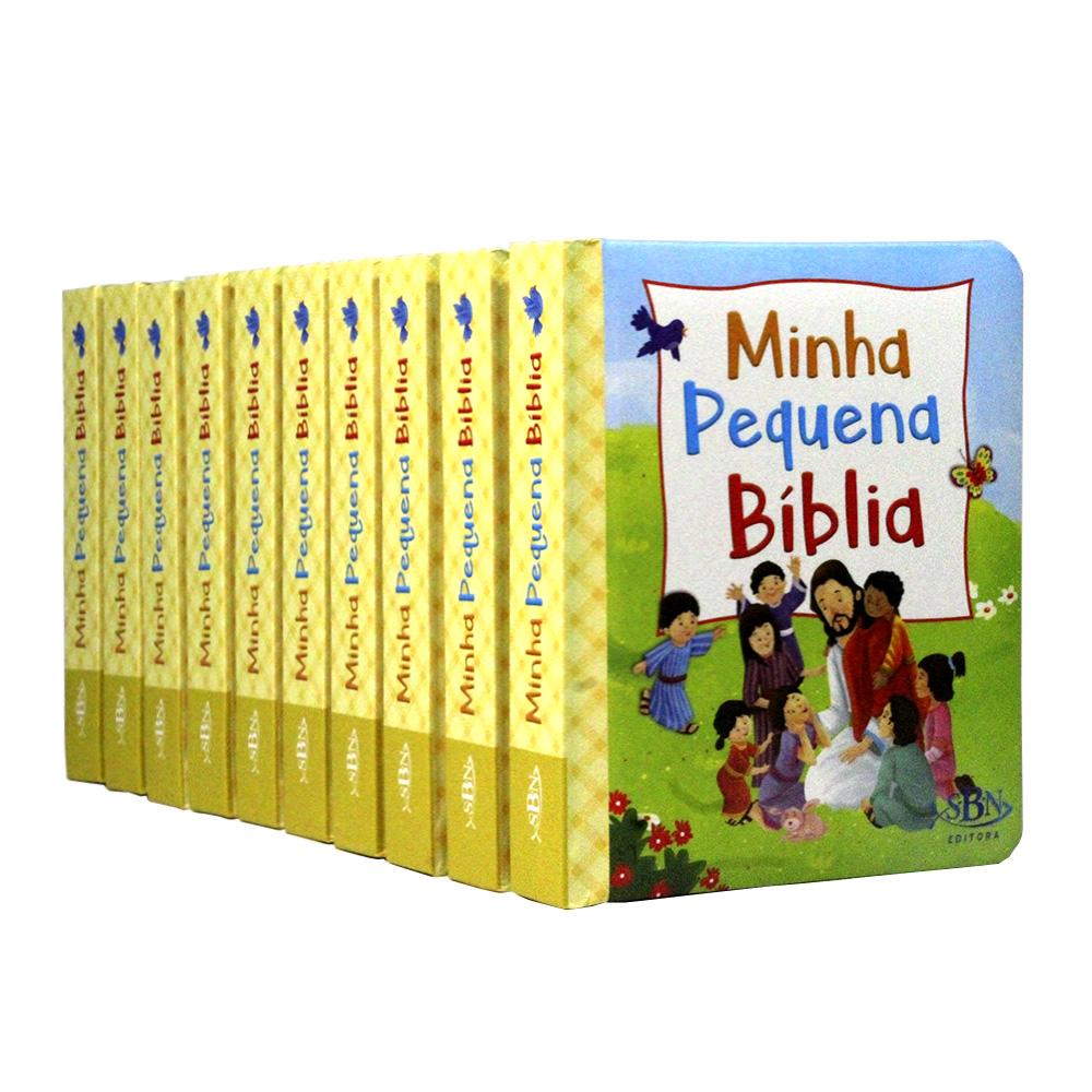 Kit 10 Pequeninos: Minha Pequena Bíblia
