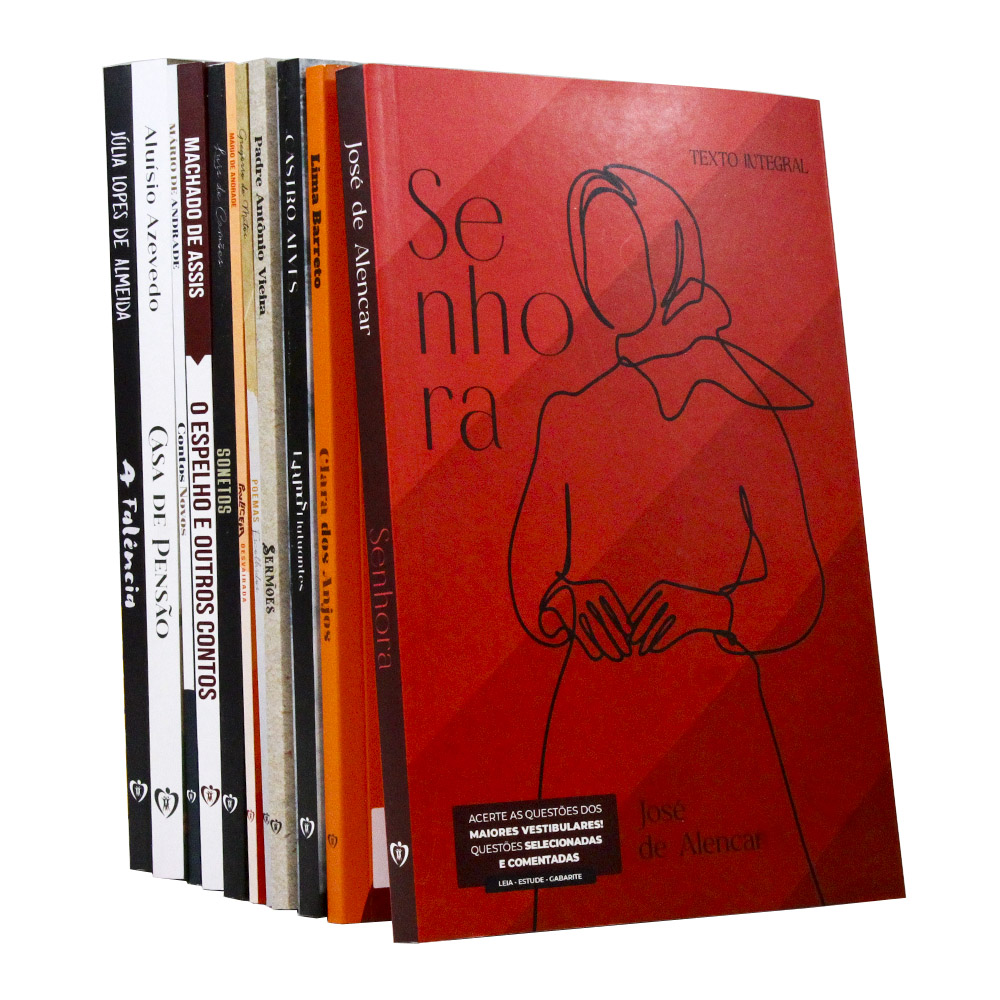 Kit 11 Livros | Vestibular | Clássicos da Literatura Brasileira