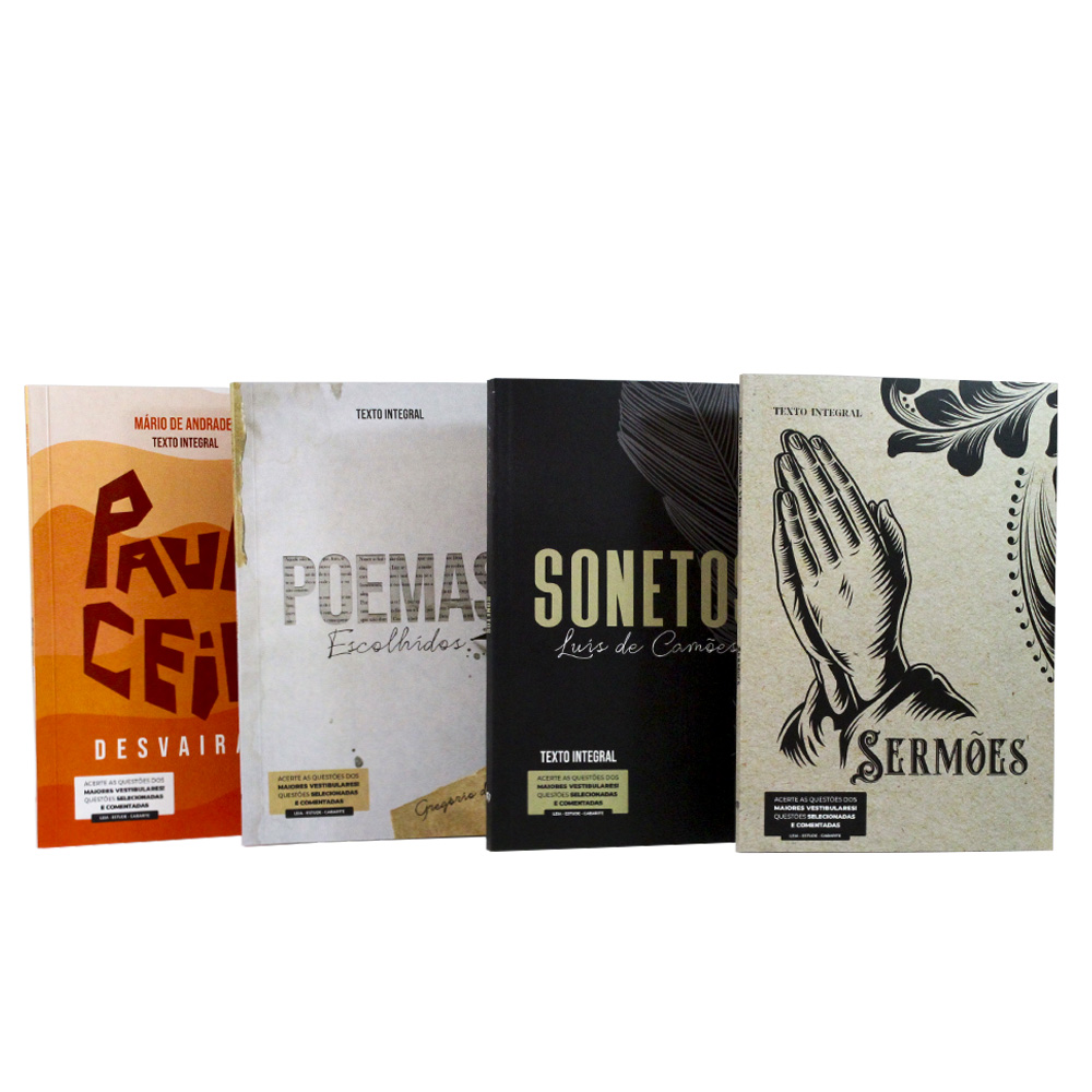 Kit 11 Livros   Vestibular   Clássicos da Literatura Brasileira