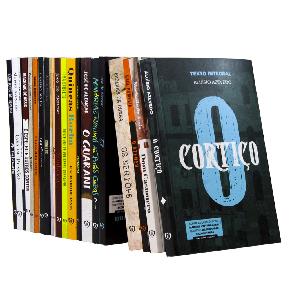 Kit 21 Livros   Vestibular   Clássicos da Literatura Brasileira