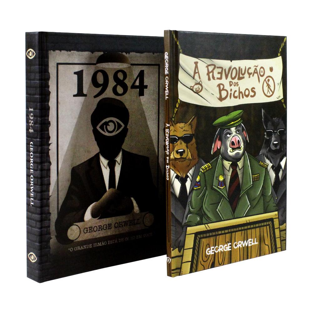 Kit 2 Livros 1984 - Revolução dos Bichos | George Orwell