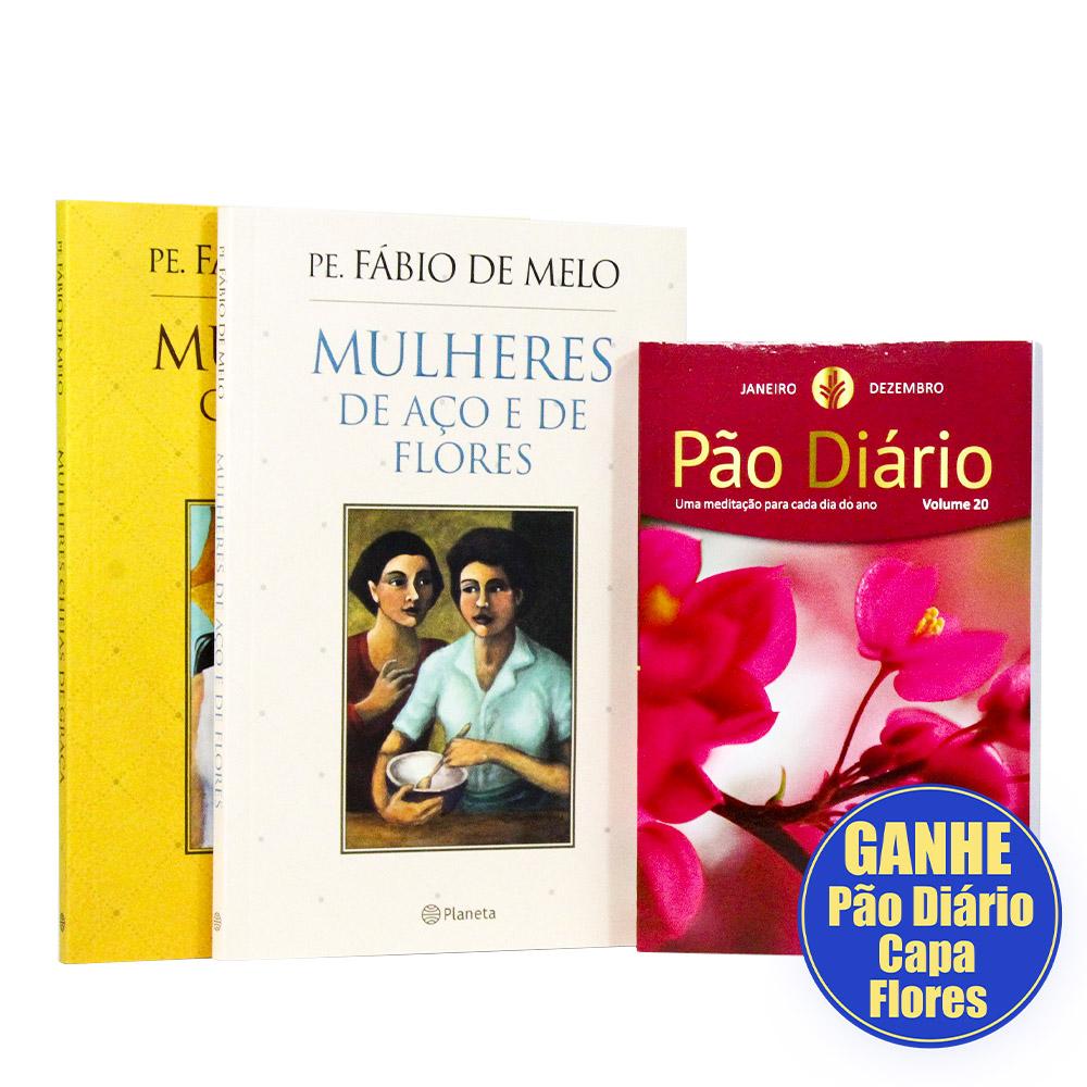 Kit 2 Livros Pe. Fábio de Melo | Mulheres