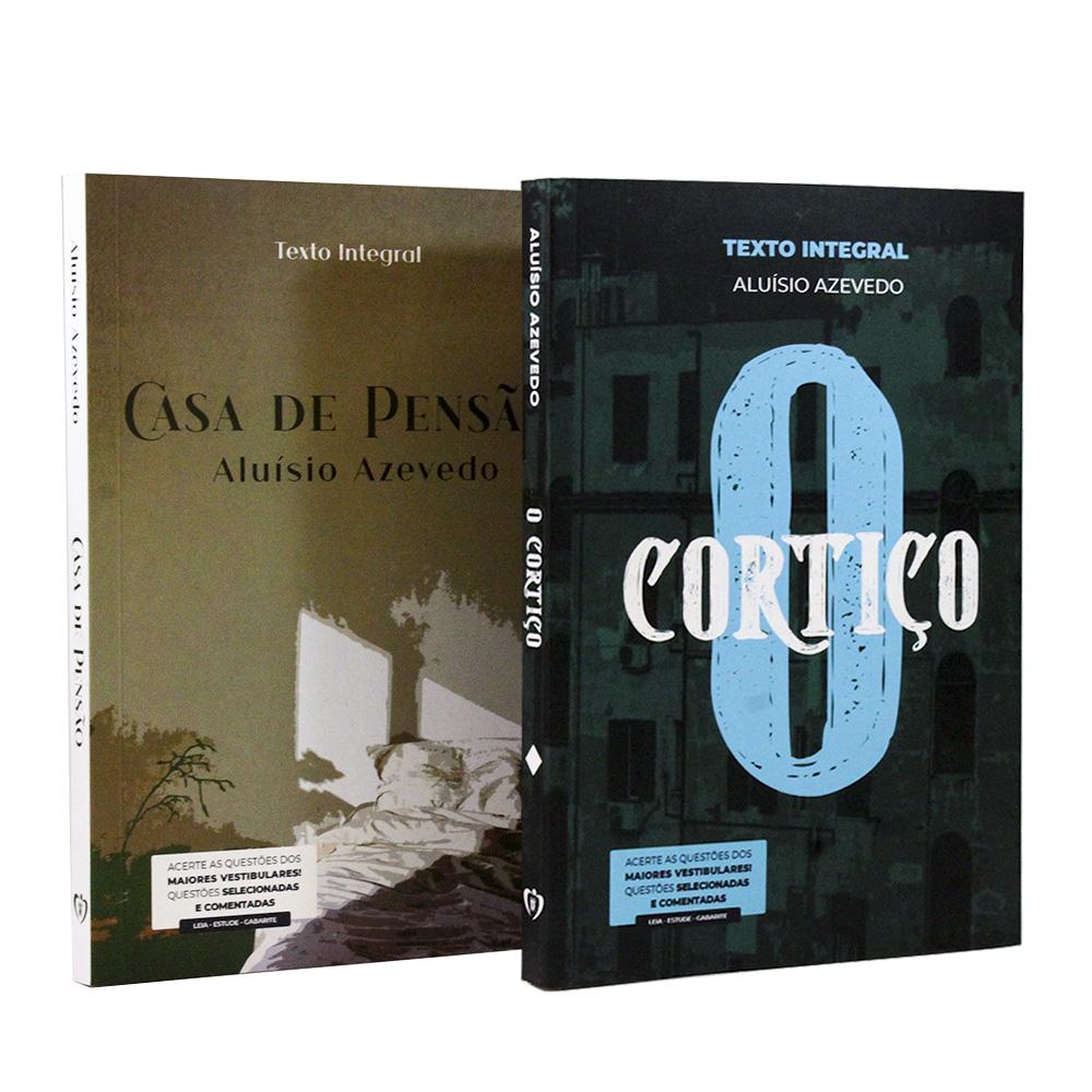 Kit 2 Livros | Vestibular | Aluísio Azevedo - Clássicos da Literatura Brasileira