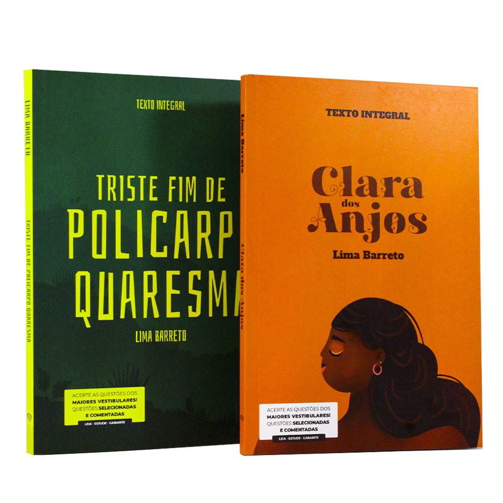 Kit 2 Livros | Vestibular | Lima Barreto - Clássicos da Literatura Brasileira