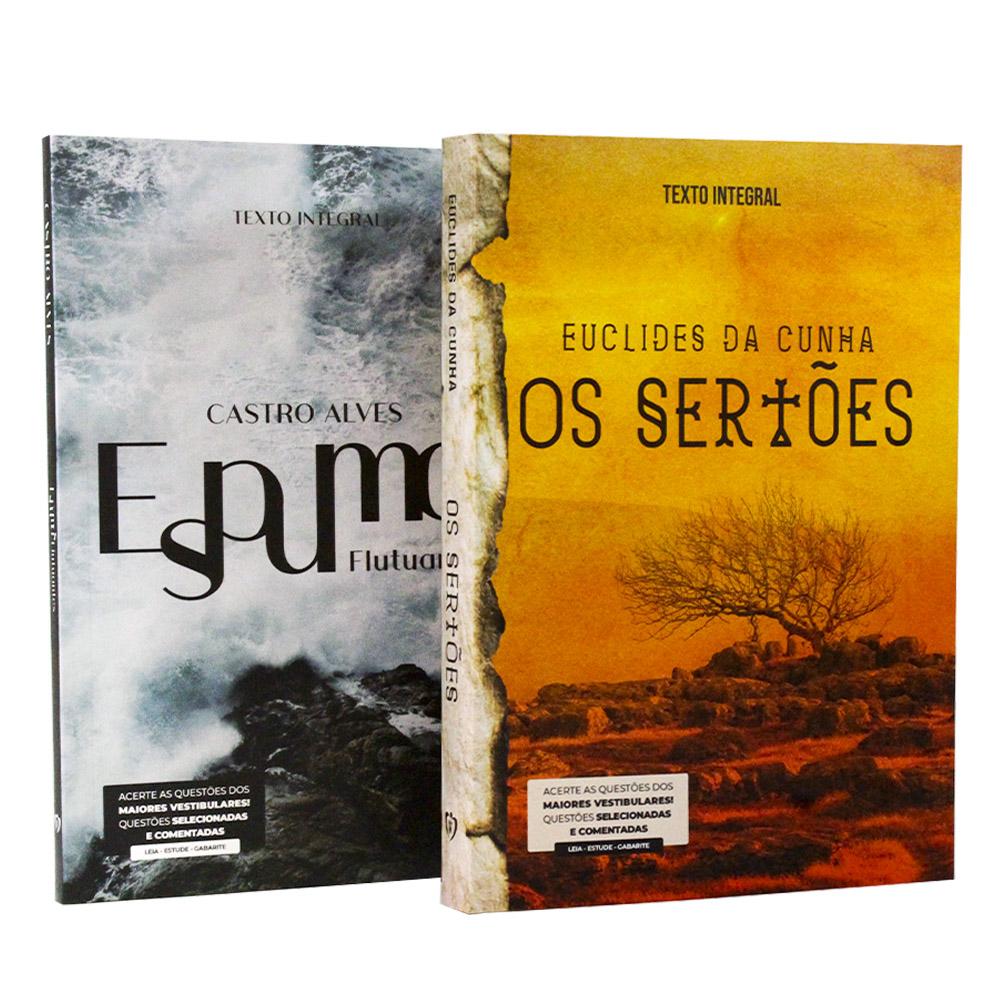 Kit 2 Livros | Vestibular Universitário | Castro Alves e Euclides da Cunha