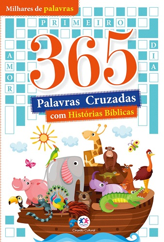 Kit 365 | 365 Atividades Bíblicas | 365 Histórias Bíblicas | 365 Palavras Cruzadas Bíblicas