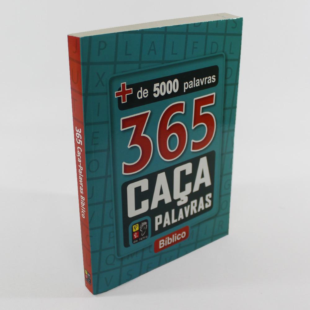 Kit 365 Caça Palavras   03 Livros