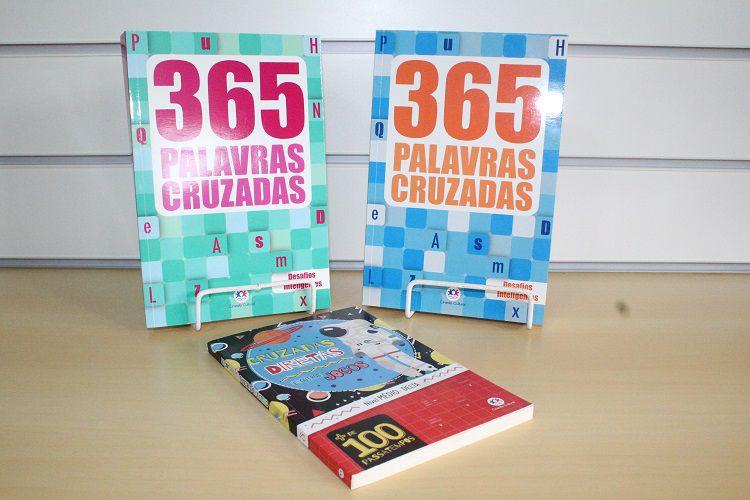 Kit 365 Palavras Cruzadas