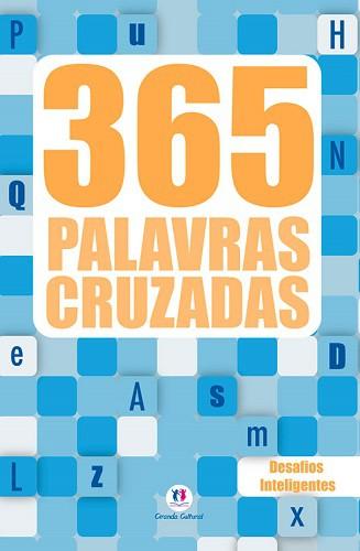 Kit 365 Palavras Cruzadas e Caça Palavras | 07 Livros