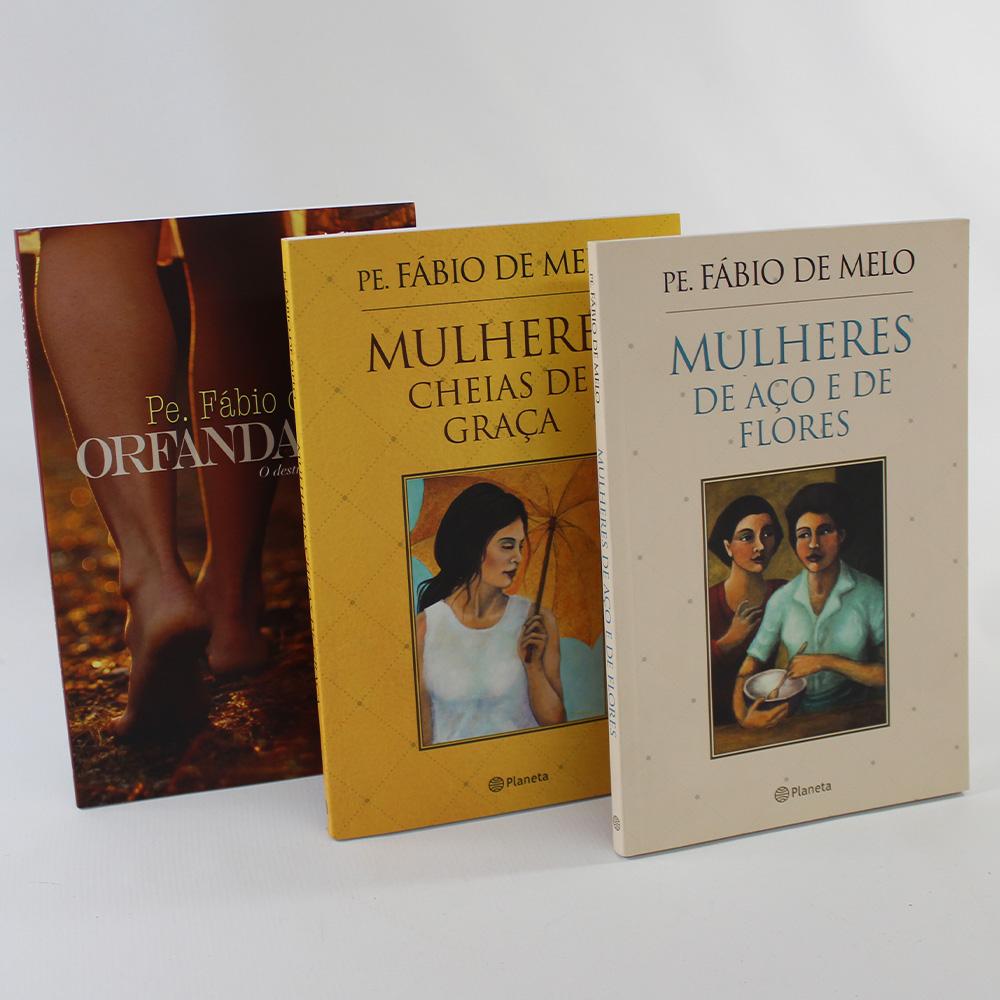 Kit 3 Livros Pe Fábio de Melo | Mulheres