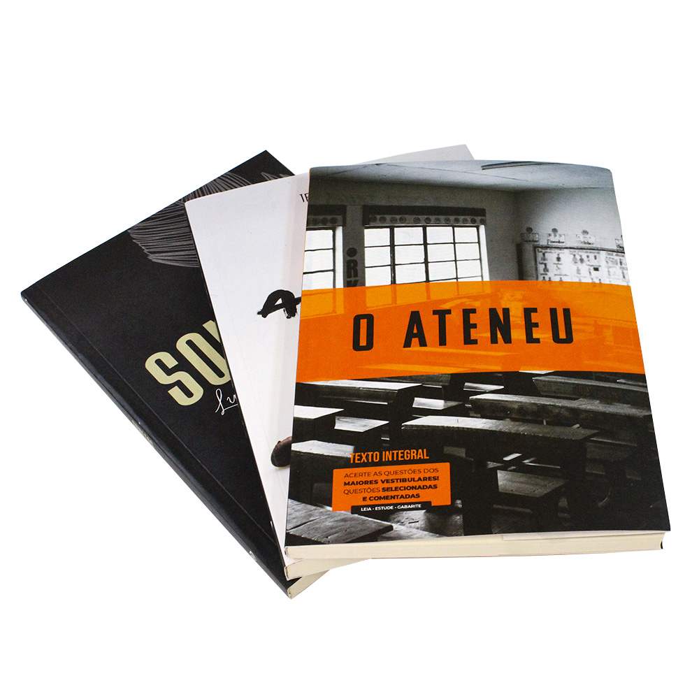 Kit 3 Livros | Vestibular | Clássicos da Literatura Brasileira