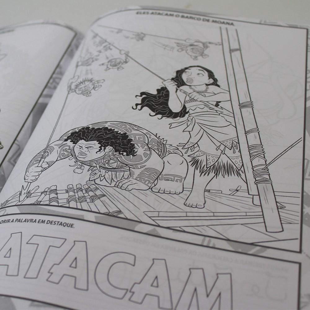 Kit 4 Livros - 100 Páginas para Colorir e Aprender