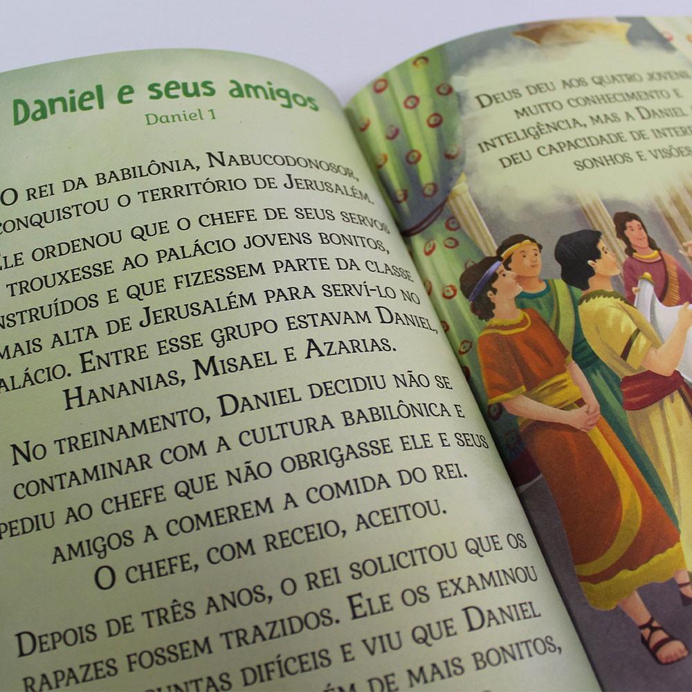 Kit 50 Livros | Bíblia Infantil | Letras Grandes