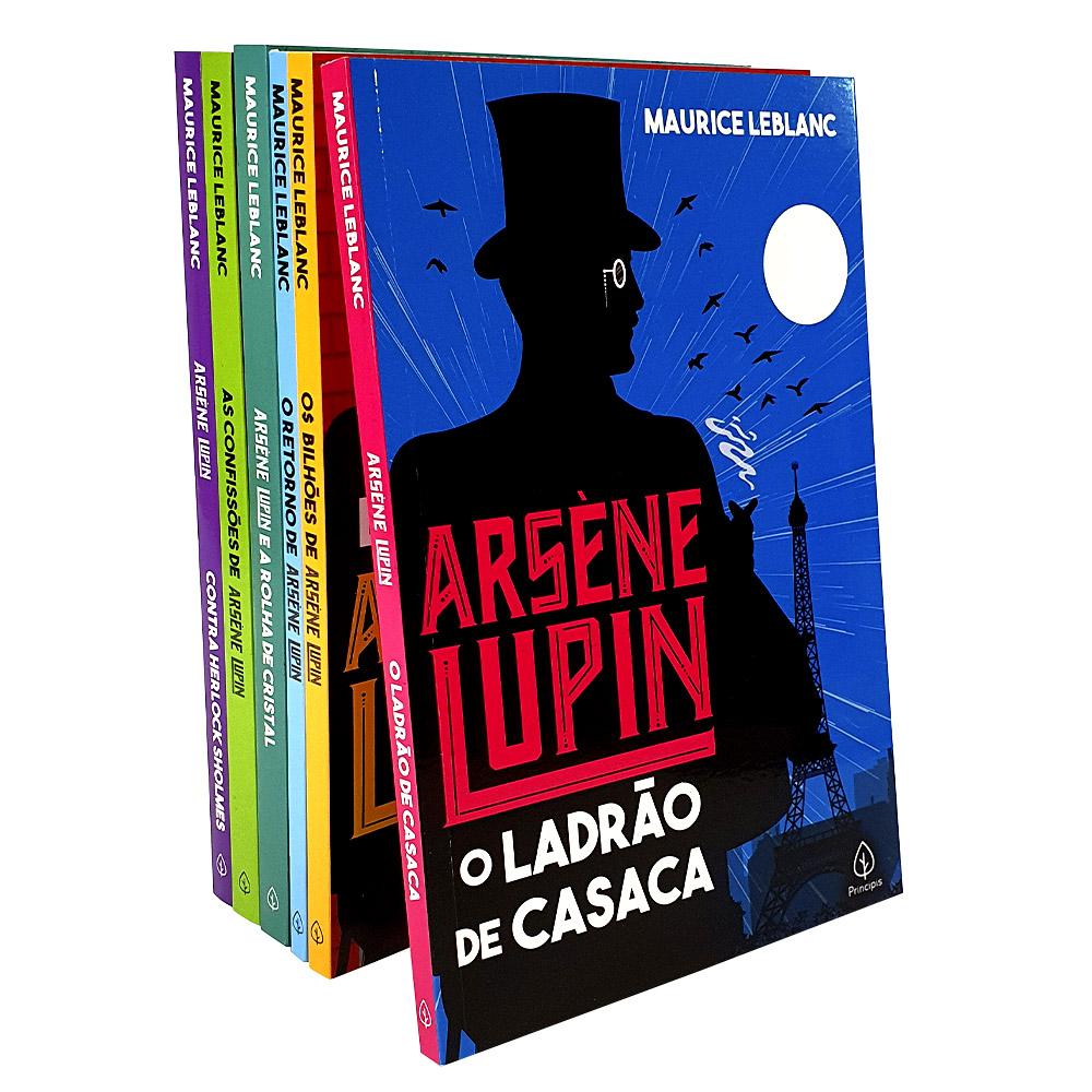 Kit 6 Livros | Arséne Lupin - Principis