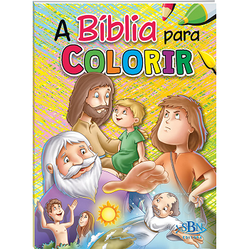 Kit A Bíblia Para Colorir | 10 Livros | Todolivro | SBN