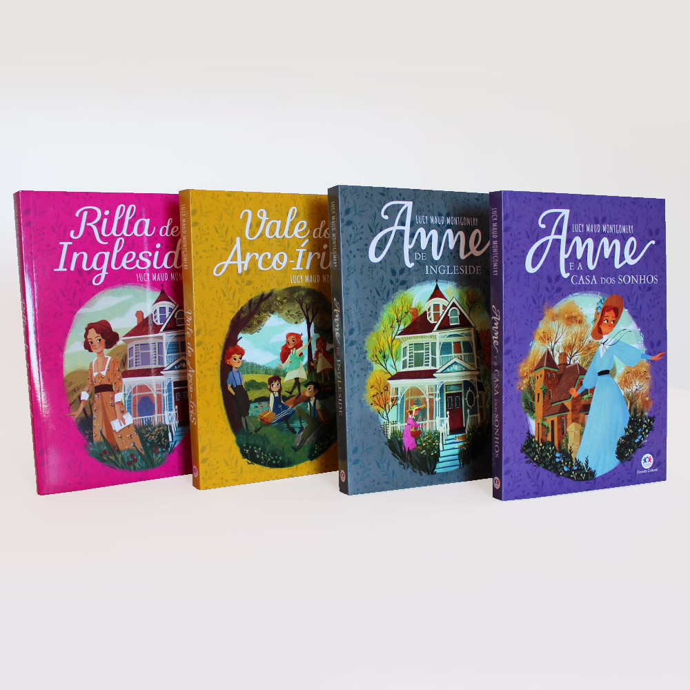 Kit Anne Green Gables | 08 Livros | Lucy Maud Montgomery